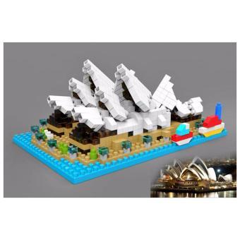 Đồ chơi lắp ráp 3D mô hình Sydney Opera House