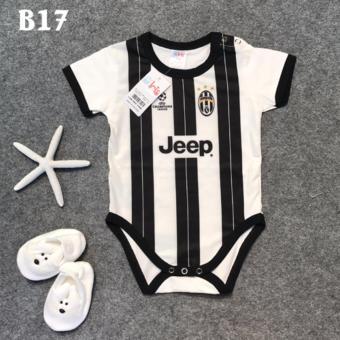 Bộ Jumpsuit Sơ Sinh Juventus - Sọc