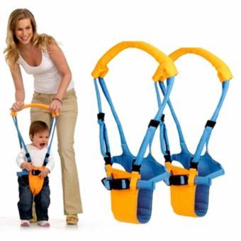Đai tập đi thăng bằng cho bé (Vàng phối xanh)
