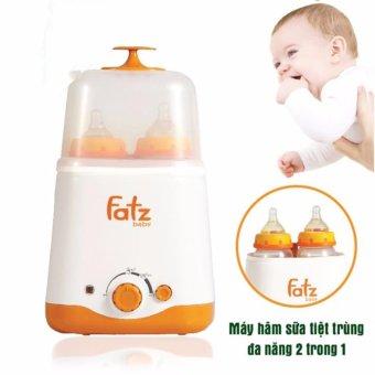 Máy hâm sữa đa năng 2 bình cổ rộng Fatzbaby