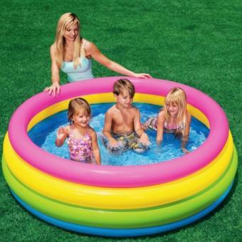 Bể bơi 4 tầng tập bơi cho bé