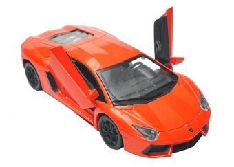 Mô Hình 1 /32 15Cm Siêu Xe Lamborghini Aventador (Cam)