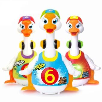 Đồ chơi huile toys - Ngỗng nhảy hiphop ngộ nghĩnh - Huile toys 828