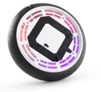LED hover ball Light-up Air Power Soccer Disk Kids Present Black -intl