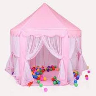 lều công chúa + 100 bóng ( tặng kèm 1 lấy ráy tai phát sáng )