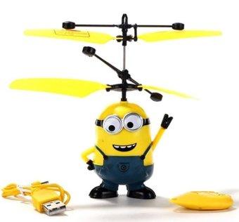Máy bay hình minion cảm ứng dùng pin sạc GS1