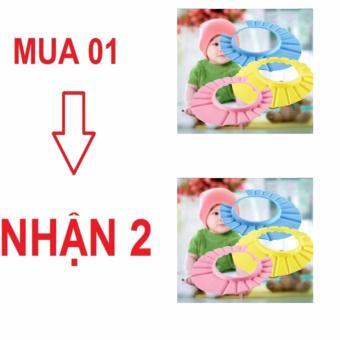 Mũ gội đầu cho bé (combo 2)