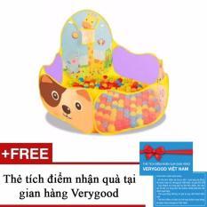 Bảng Báo Giá Nhà banh hươu cao cổ kèm 20 bóng Việt Nam + Tặng kèm 1 thẻ tích điểm nhận quà tại gian hàng Verygood