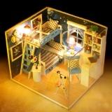 Hình ảnh Nhà búp bê có đèn - Căn gác mái