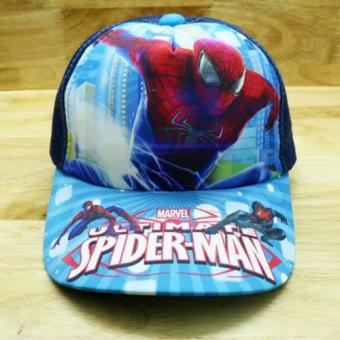 NónTrẻ Em Spider Man Thời Trang K & T (Xanh)