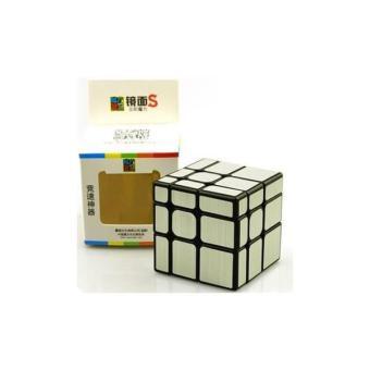 Rubik Gương Mirror Mofangjiaoshi S Bạc