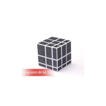 Rubik Gương Viền Trắng