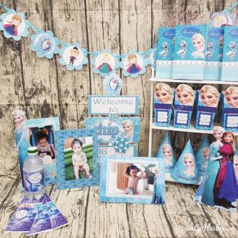 Set trưng bàn tiệc Elsa