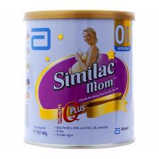Sữa Bà Bầu Abbott Similac Mom IQ Plus Hộp 400g (Bà mẹ mang thai và cho con bú)