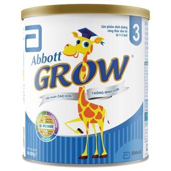 Sữa bột Abbott Grow 3 G-Power Hương Vani 400g
