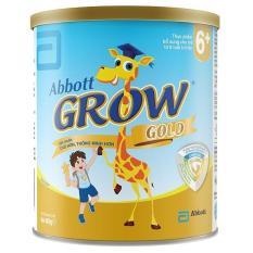 Sữa bột Abbott Grow Gold 6+ hương vani 400g