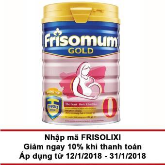 Sữa bột Frisomum Gold hương cam 400g