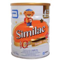 Sữa bột Similac IQ 4 (dành cho trẻ từ 2 - 6 tuổi) 900G (hộp thiếc)