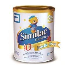 Sữa bột ABBOTT Similac Gain Plus IQ 3 Intelli Pro 900g