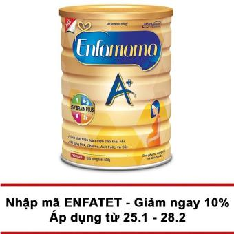 Sữa Enfamama A+ Chocolate 900g