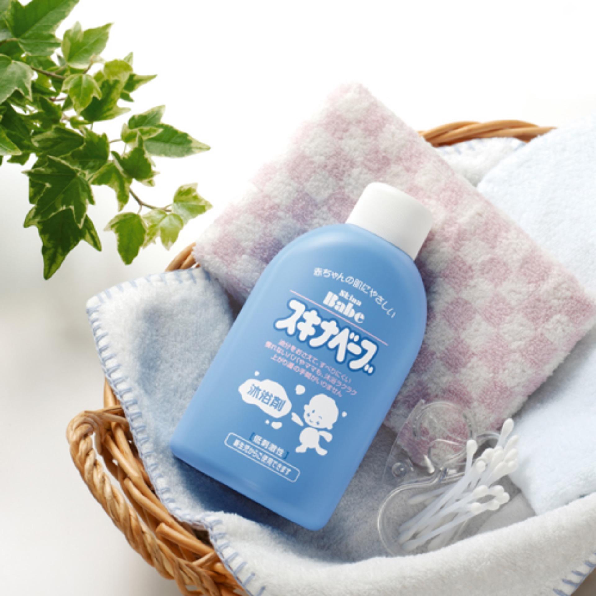 Sữa tắm chống rôm sảy Mochida Japan cho bé sơ sinh 500ml