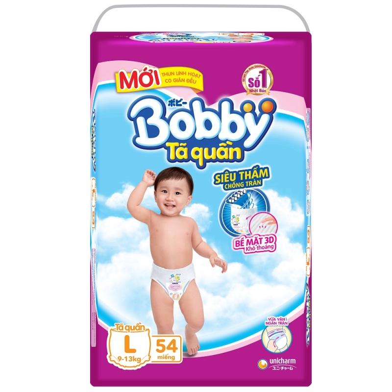 Bảng giá Tã quần Bobby L54
