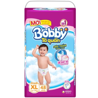 Tã quần Bobby XL48