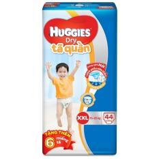Tã quần Huggies Dry Pants XXL44 (Trên 14kg) + Tặng 6 miếng /gói
