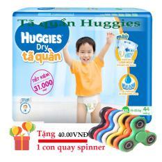 Tã quần Huggies XXL44,  cho trẻ từ 15 đến 25 kg