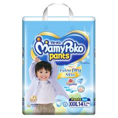 Cập Nhật Giá Tã quần Mamy Poko XXXL14 (Boy)