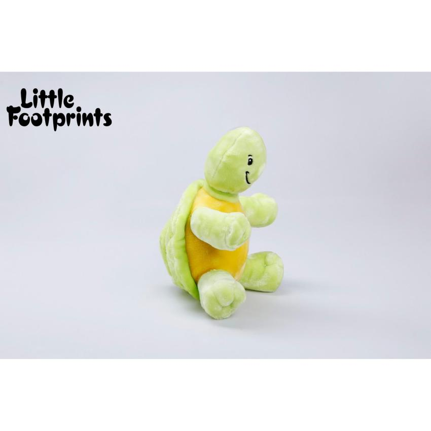 Hình ảnh Thú nhồi bông thương hiệu Little Footprints - Rùa xanh vàng