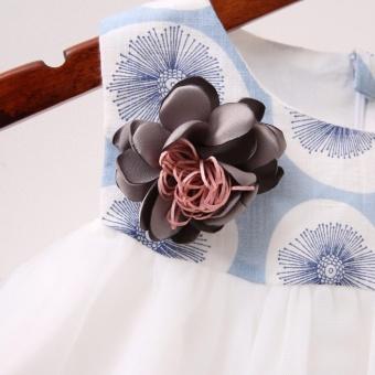 Váy đầm công chúa in họa tiết hoa bồ công anh cho bé gái xinh đẹp giá rẻ - 5