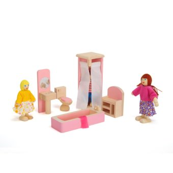 Wooden Doll Bathroom Furniture-Bathroom - 4