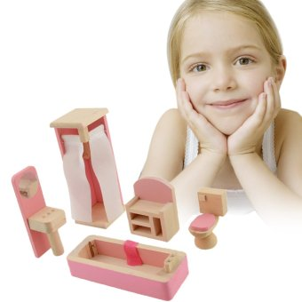 Wooden Doll Bathroom Furniture-Bathroom - 3