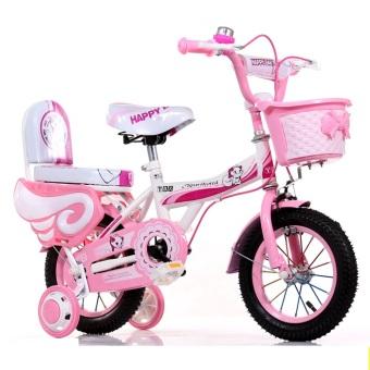 Xe đạp trẻ em bé gái HelloKitty YC 201 Cỡ 12