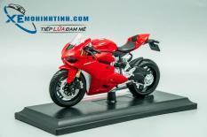 Đánh Giá Xe Mô Hình Ducati 1199 Panigale 1:18 Maisto (Đỏ)