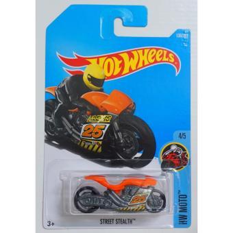 Xe mô tô mô hình tỉ lệ 1:64 Hot Wheels Street Stealth Hw Moto 4/5136/365 ( Cam )