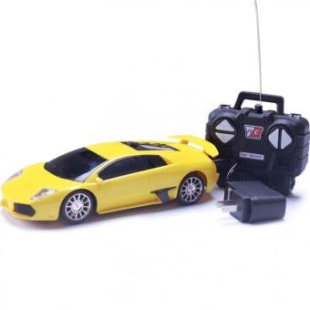 Xe ô tô đồ chơi Ferrari điều khiển từ xa cho bé (Vàng)