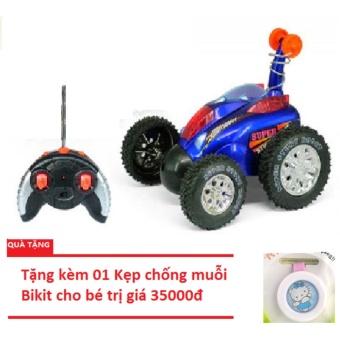 Xe ô tô nhào lộn điều khiển từ xa cho bé to tặng kèm kẹp chống muỗi