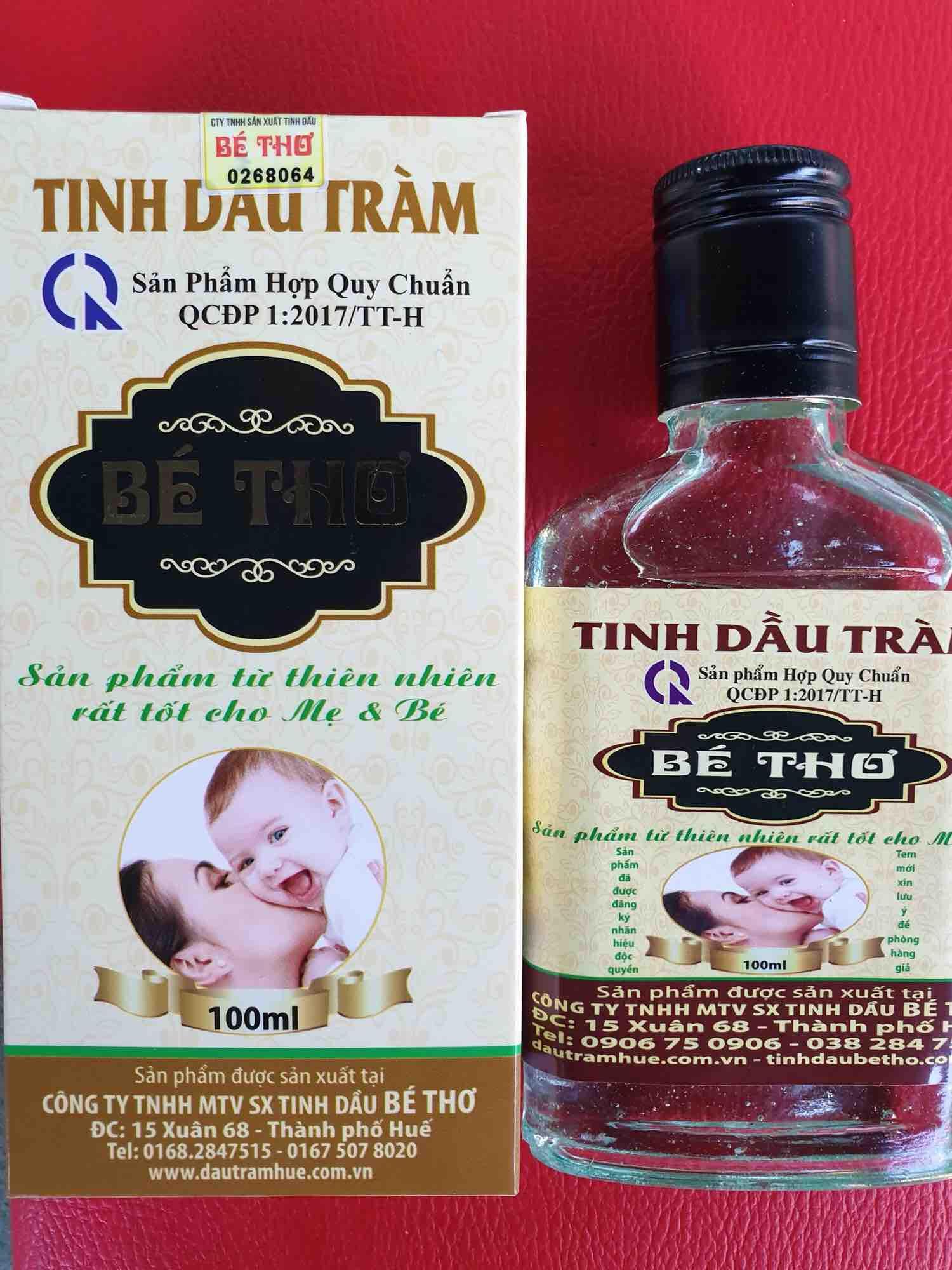 Tinh dầu Tràm Bé Thơ 100ml (có tem chống hàng giả)