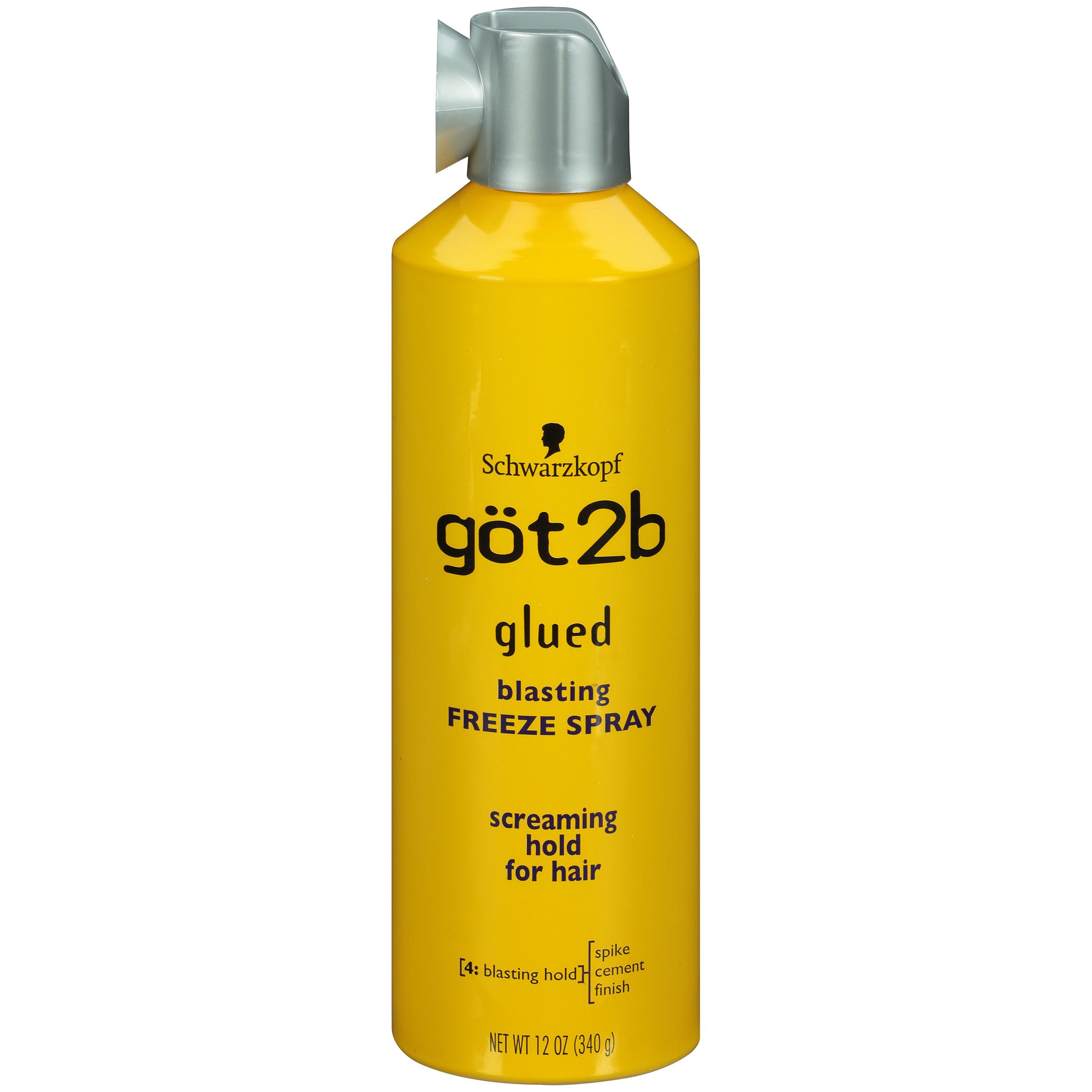 Xịt giữ nếp tóc Got2b Glued Blasting Freeze - 12oz