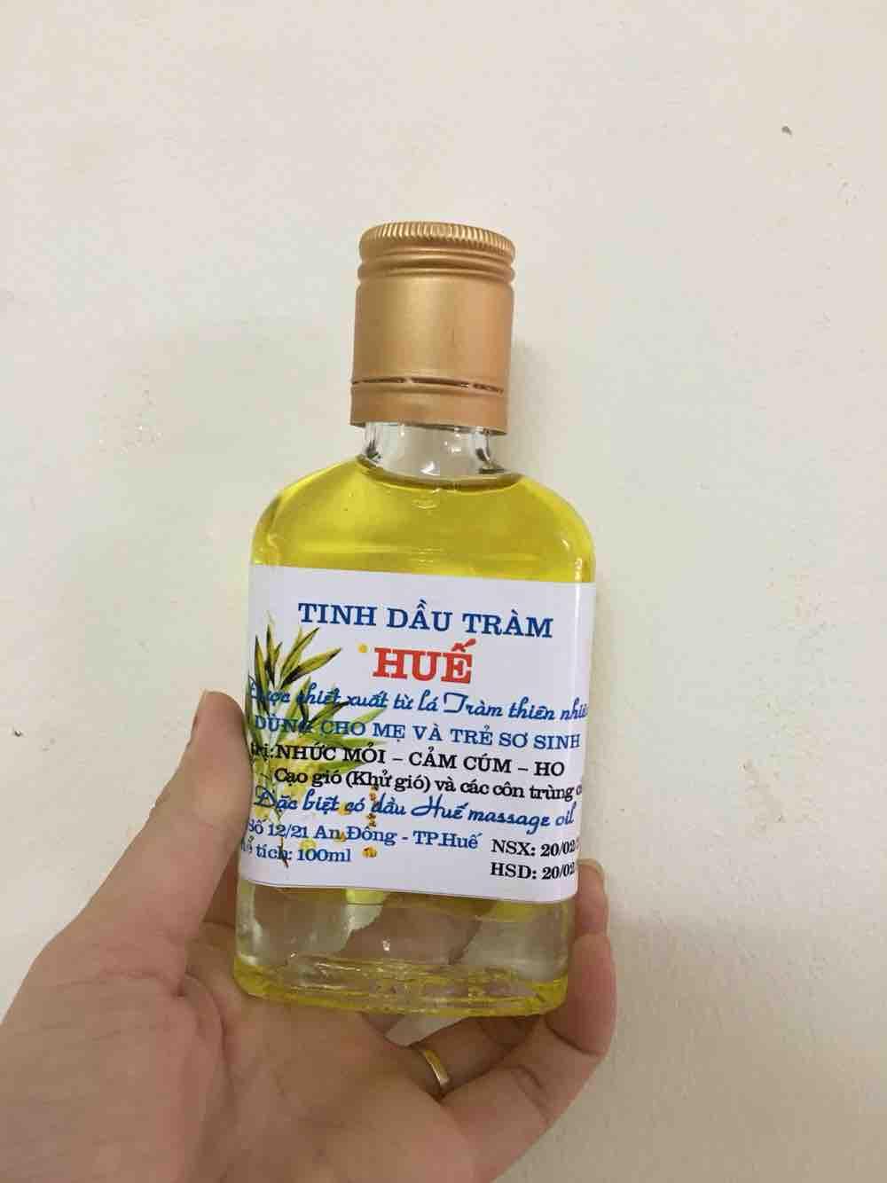 Trợ giá Tinh dầu tràm Huế lọ dẹt 100ml