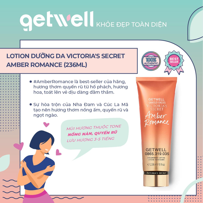 Lotion dưỡng thể Victoria's Secret Fragrance Lotion Amber Romance (236ml)