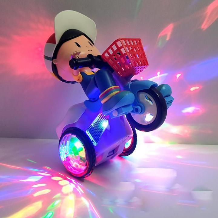 Đồ chơi em bé đạp xe quay nhạc xoay 360 Thomas and friends phát âm nhạc cho trẻ từ 1 đến 7 tuổi Cực kì an toàn