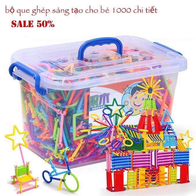 Đồ chơi thông minh cho bé trai 3 tuổi, Ô tô đồ chơi cho bé, Bộ ghép que sáng tạo cho bé,Giúp bé Thoải Mái vui chơi Và Phát triển Kích thích tính tư duy sáng tạo.An Toàn Và chất lượng,Sale 50%
