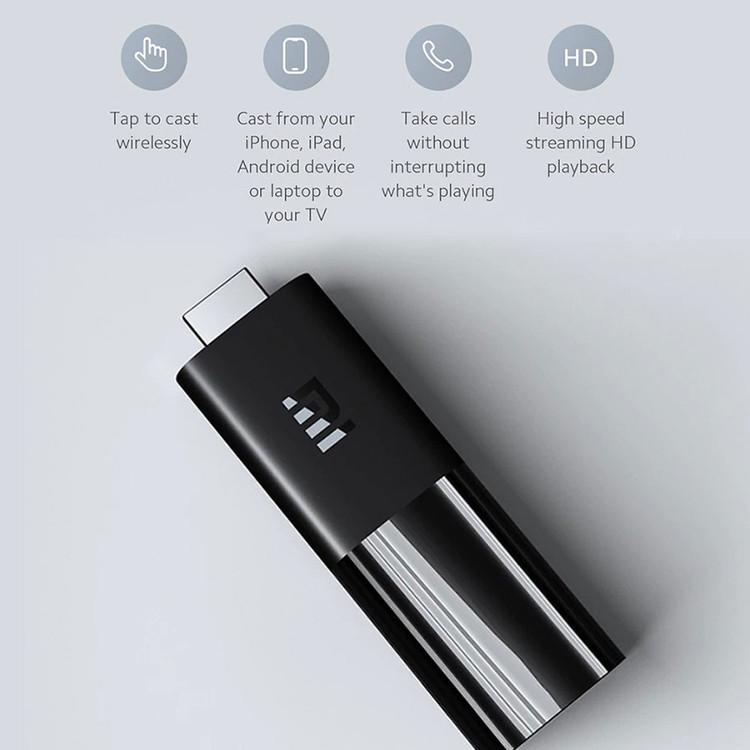 Xiaomi Mi TV Stick Android Tv box Quốc Tế tìm kiếm giọng nói Tiếng Việt - Hàng Chính Hãng
