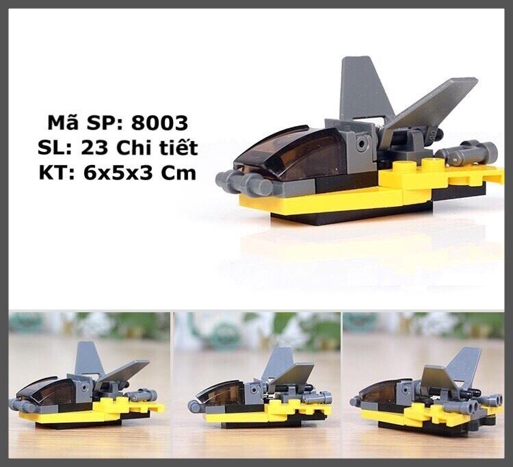 Combo đồ chơi trẻ em 3 xe ô tô xếp hình LEGO CITY từ 27 đến 32 chi tiết nhựa ABS cao cấp cho bé từ 4 tuổi trở lên phát triển trí tuệ và sáng tạo 5
