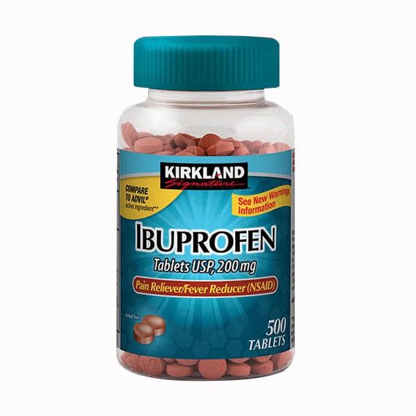 Viên giảm đau hạ sốt Kirkland Ibuprofen 200mg