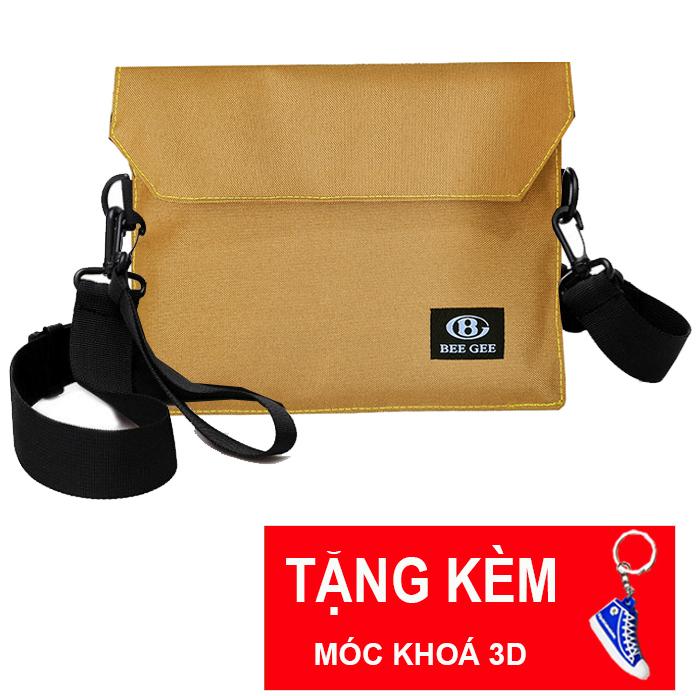 Hình ảnh ( TẶNG MK GIÀY ) Túi đeo chéo mini nam nữ unisex thời trang Hàn quốc có thể làm bóp ví cầm tay BEE GEE 094