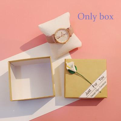 [Hot Bán] Eooshop Tiên hồng Gift Box trí Box Bracelet Box Xem Box Birthday Gift Box 2021 New 1